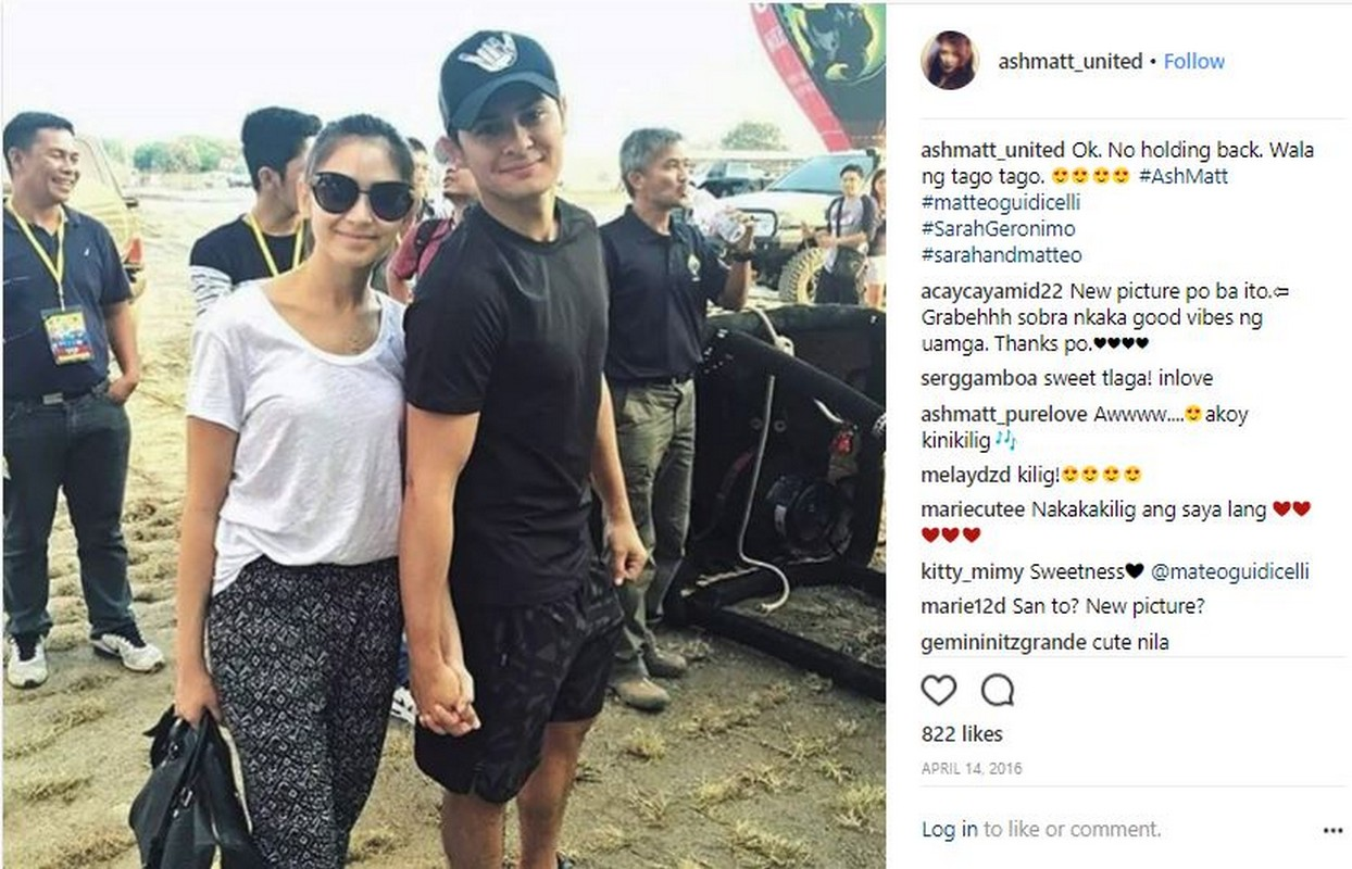 29 photos of Matteo & Sarah's sweet stolen moments perfectly captured by netizens!