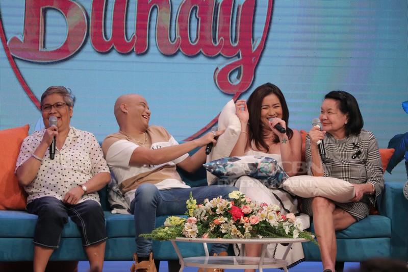 PHOTOS: Magandang Buhay with Angeline Quinto & Wacky Kiray