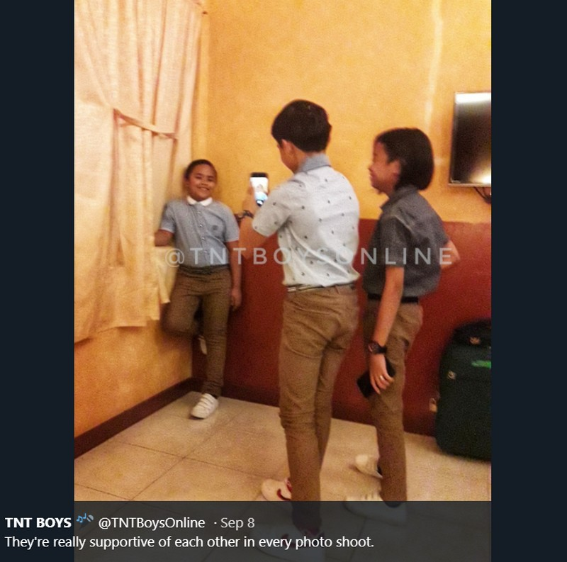 LOOK: Here are photos of TNT Boys being friends in real life!