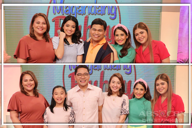 PHOTOS: Magandang Buhay with Ogie Diaz and Anthony Taberna
