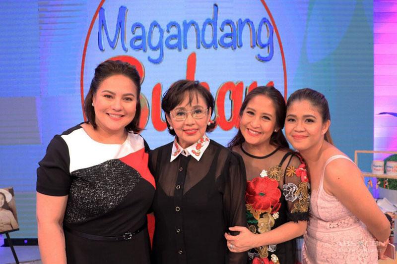 Magandang Buhay throws two part birthday celebration for Momshie for All Seasons Vilma Santos 1